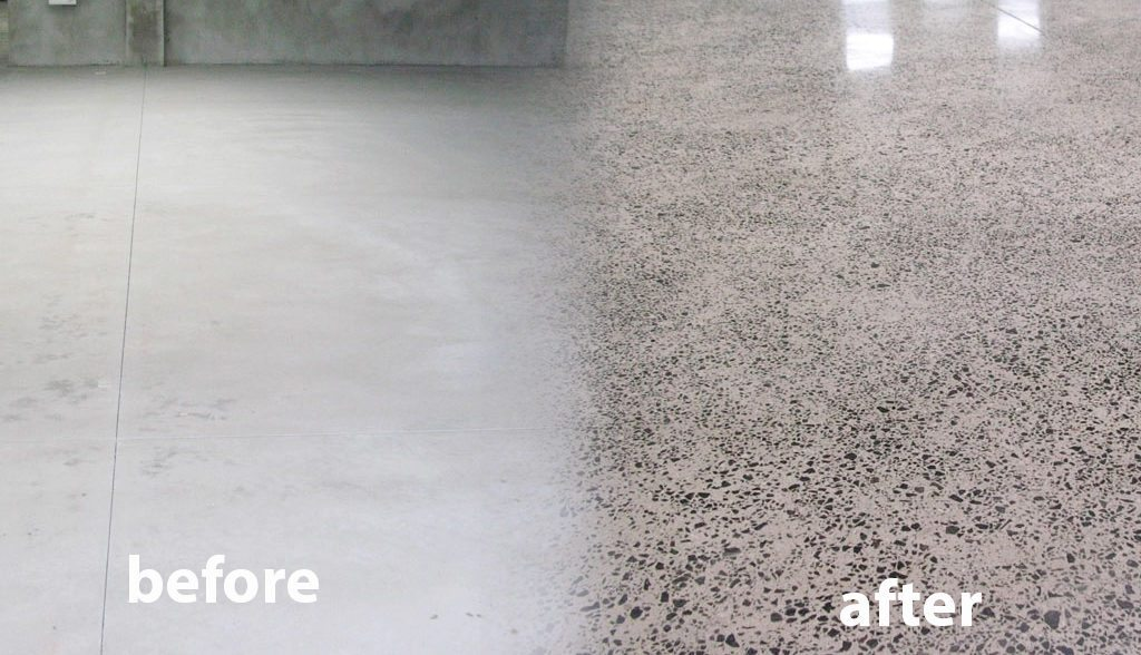 Epoxy Flooring Coating Contractors of Palm Beach County-Concrete Polishing