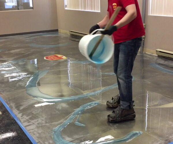 Epoxy Flooring Coating Contractors of Palm Beach County-Liquid Marble Designer Garage, Commercial, and Industrial Floor Coatings
