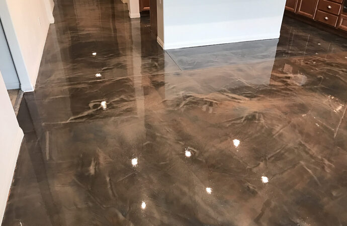Epoxy Flooring Coating Contractors of Palm Beach County-Metallic Epoxy Garage, Commercial, and Industrial Coatings